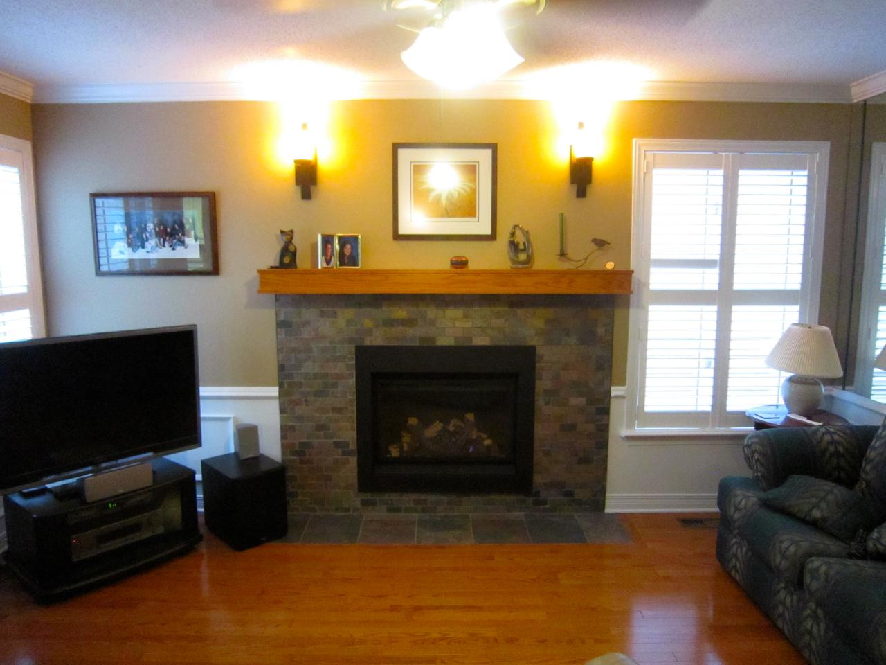Fireplace Renovation from Wood Burning to Gas ~ Lisa ...