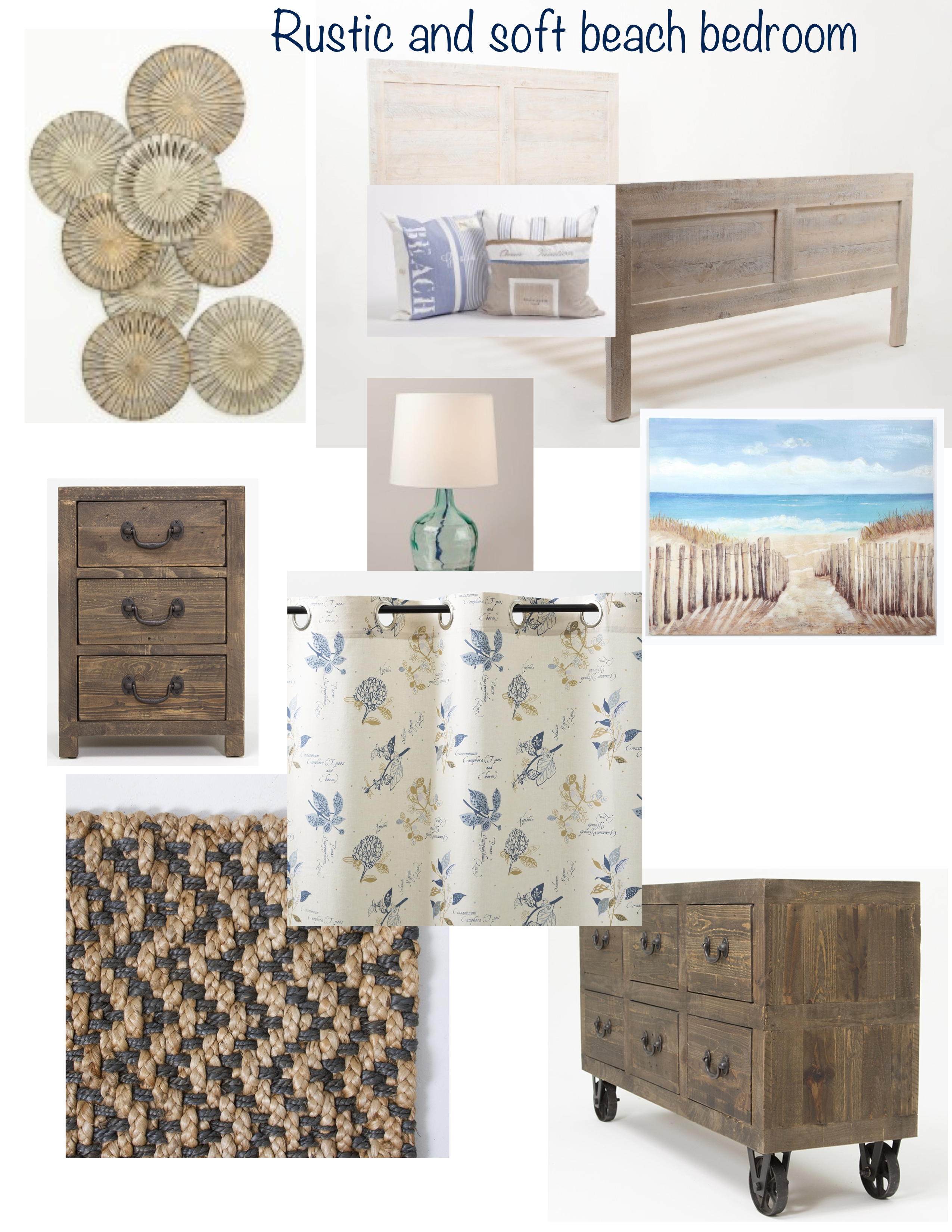Picture of: Rustic And Soft Beachy Bedroom Lisa Goulet Design
