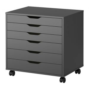 alex-drawer-unit-on-casters-gray