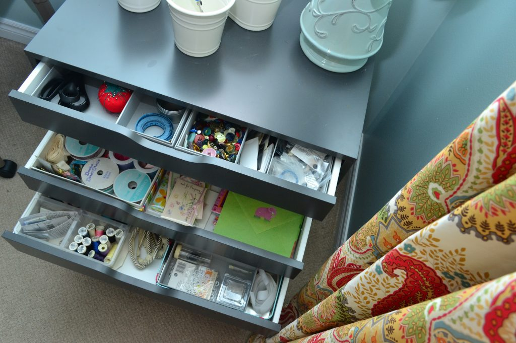 Sewing/craft room - Alex drawer unit- ORC