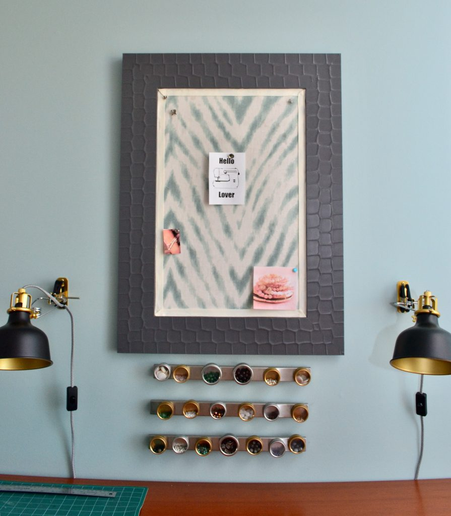 Sewing/craft room - bulletin board- ORC
