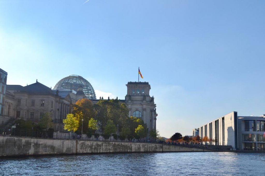 Reichstag from Spree river
