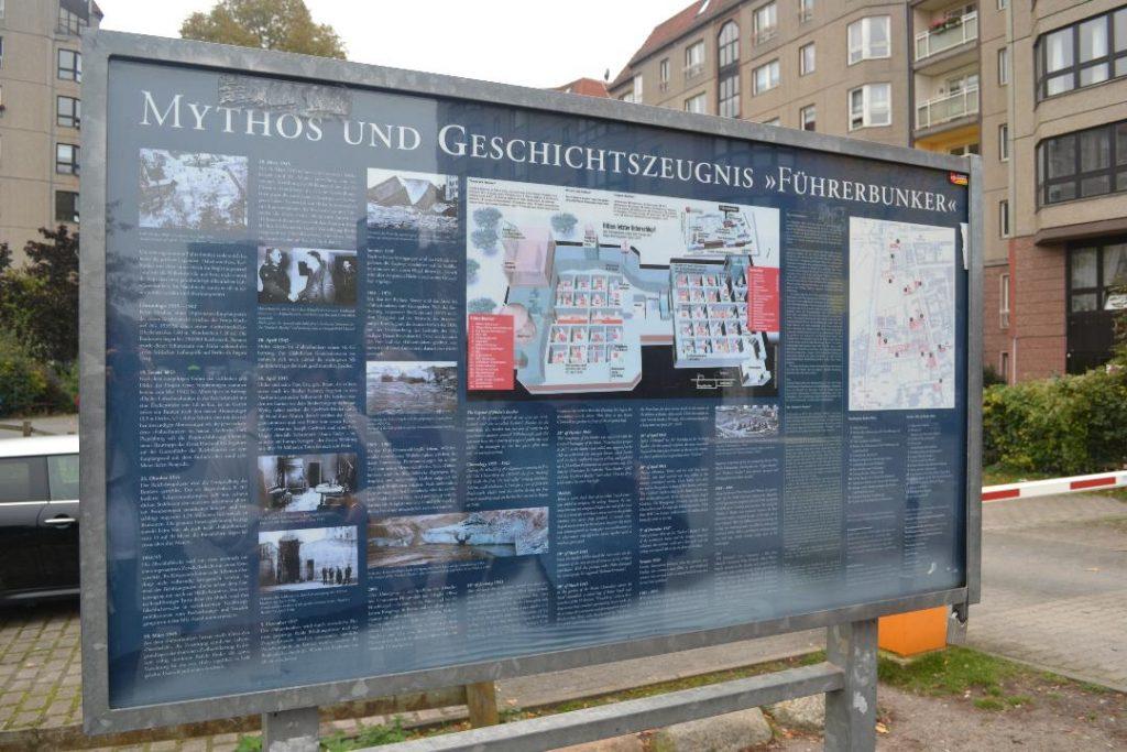 Hitler's bunker site