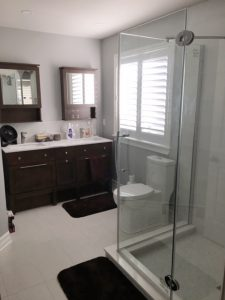 Client bath reno - sneak peek