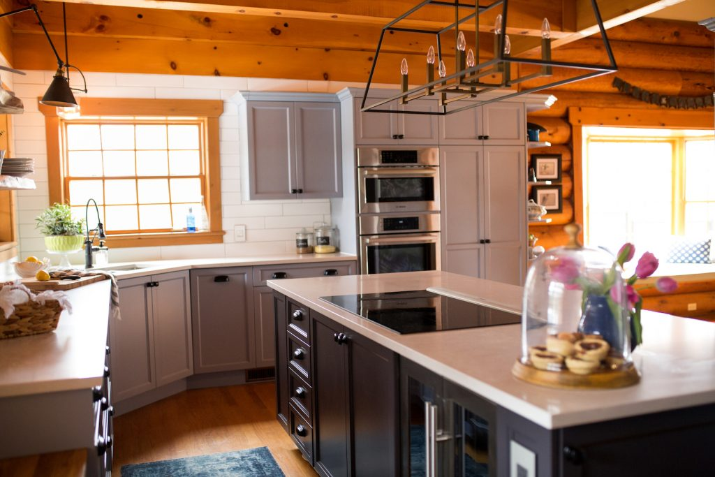 modern cottage kitchen