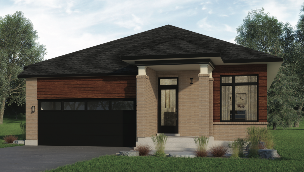 New build home - bungalow
