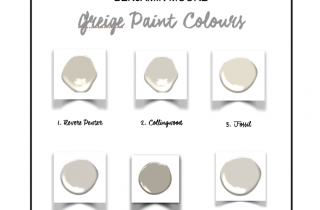 WARM GREIGE PAINT COLOURS – MY 6 FAVOURITES
